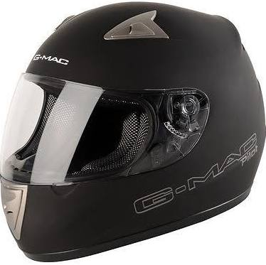 Helmet G-mac Pilot Satin Black