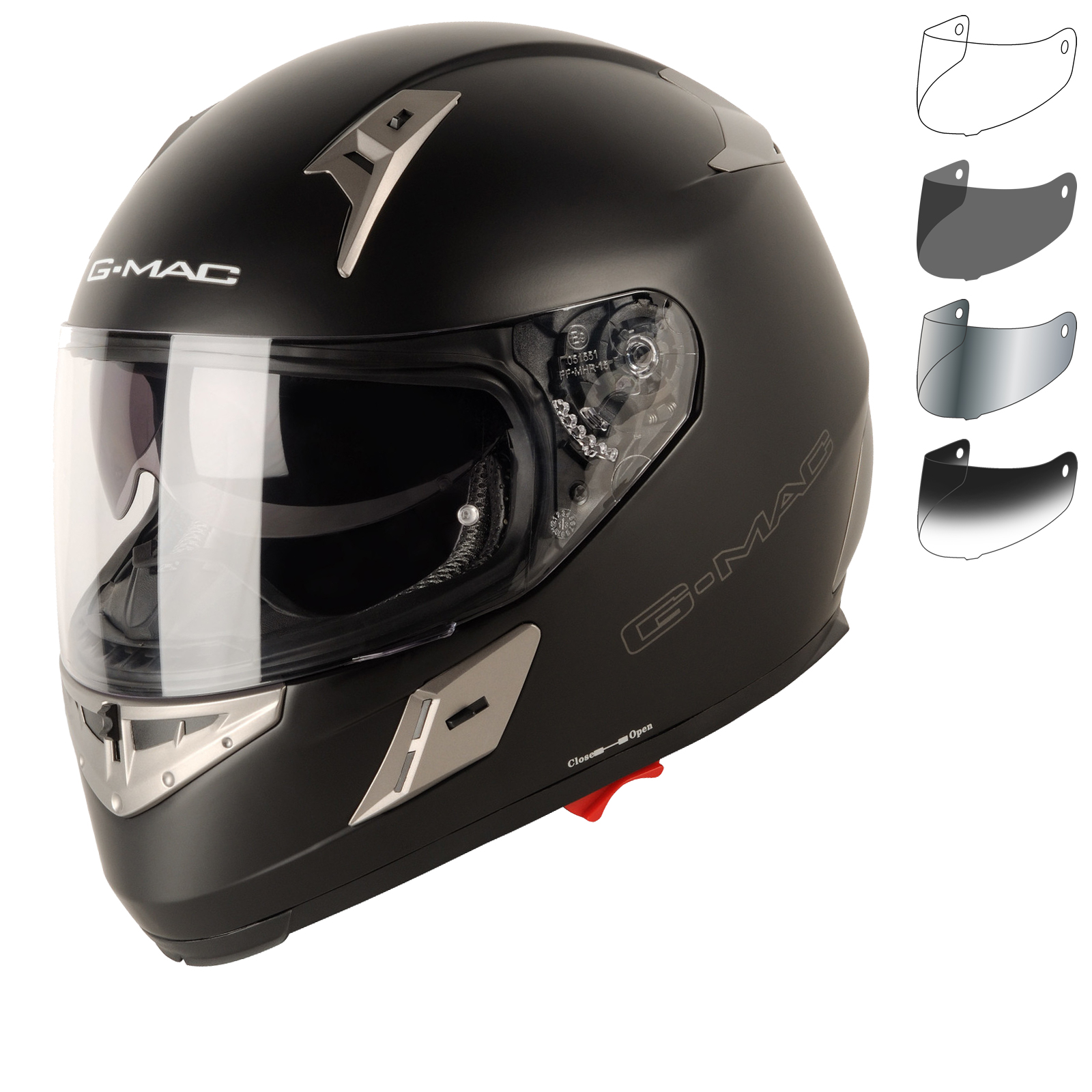Helmet G-mac Renegade Satin Black