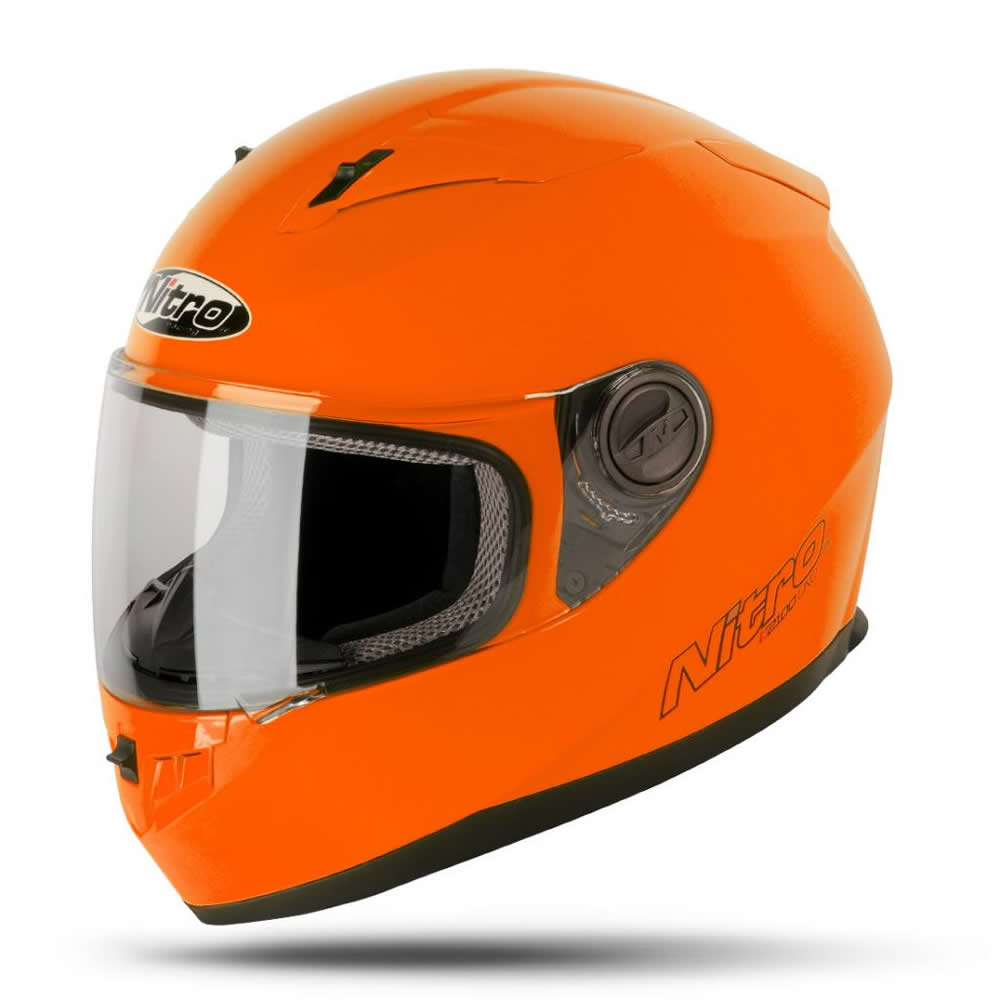 Helmet Nitro-N2100-Plain-Orange