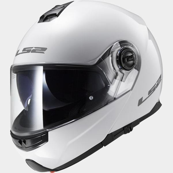 LS2 FF325 STROBE GLOSS WHITE